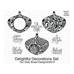 Our Daily Bread Clear Stamps 4X5 - Delightful Decorations