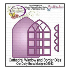 Our Daily Bread Dies Cathedral Window & Borders 3.31In.  To 5In.