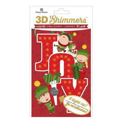 Paper House Led Shimmers Embellishment Elf Joy