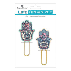 Paper House Life Organized Puffy Clips 2 Hamas