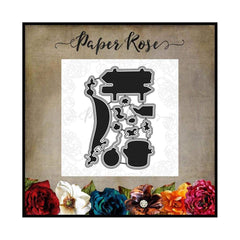 Paper Rose Studio - Bush Babies Accessories Metal Cutting Die