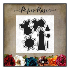 Paper Rose Studio - Monkey Love Metal Die Set 17428