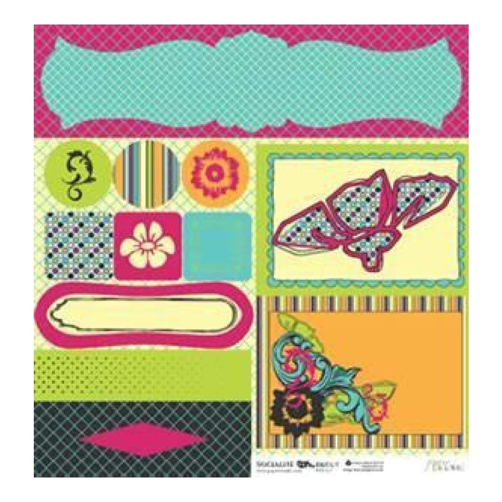 Paper Trunk - Socialite Die Cut (Pack Of 5)