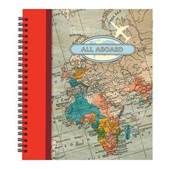 Papermania All Aboard Spiral Bound Book