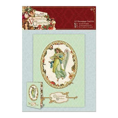 Papermania Victorian Christmas A5 Decoupage Card Kit
