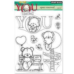 Penny Black Clear Stamps - Space Reserved 5inch X6.5inch