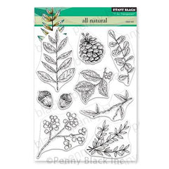 Penny Black Clear Stamps - All Natural 5 inchX6.5 inch