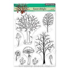 Penny Black Clear Stamps - Forest Delight 5 inchX6.5 inch
