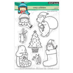 Penny Black Clear Stamps - Cozy Critters 5 inchX6.5 inch
