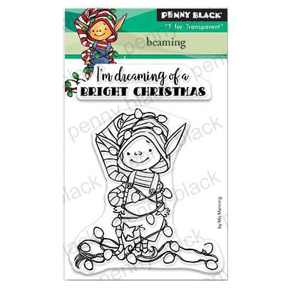 Penny Black Clear Stamps - Beaming 3 inchX4 inch