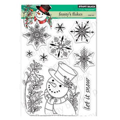 Penny Black Clear Stamps - Frosty's Flakes 5 inchX6.5 inch