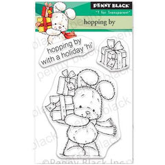 Penny Black Clear Stamps - Hopping By 3 inchX4 inch