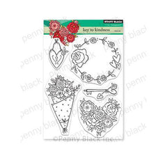 Penny Black Clear Stamps - Key To Kindness 5in x 6.5in