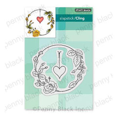 Penny Black Cling Stamps - Rose Romance 4.2in x 3.9in
