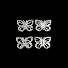 Poppy Crafts Dies - Four Butterflies #4 Die Designs
