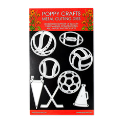 Poppy Crafts Metal Cutting Dies - Lets Play