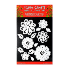 Poppy Crafts Metal Cutting Dies - Perfect Petals