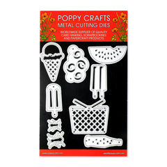 Poppy Crafts Metal Cutting Dies - Summer Picnic