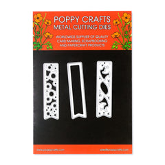 Poppy Crafts Metal Cutting Dies - Fancy Tags