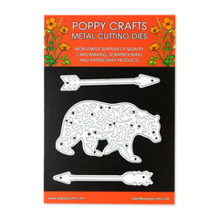 Poppy Crafts Metal Cutting Dies - Bear Necessities
