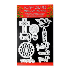 Poppy Crafts Metal Cutting Dies - Belief