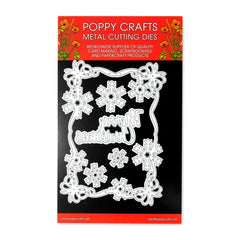 Poppy Crafts Metal Cutting Dies - Christmas Card