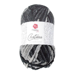 Poppy Crafts Big Ball Chateau Yarn 300g - Trianon - 100% Polyester
