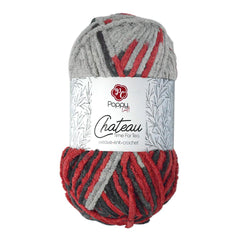 Poppy Crafts Big Ball Chateau Yarn 300g - Tea Time - 100% Polyester