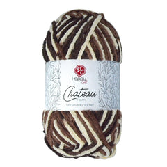 Poppy Crafts Big Ball Chateau Yarn 300g - Fawn - 100% Polyester