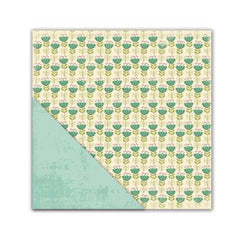 Little Yellow Bicycle - Paradise Collection - 12 x 12 Double Sided Textured Paper - Simple Pleasures