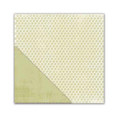 Little Yellow Bicycle - Paradise Collection - 12 x 12 Double Sided Textured Paper - All Natural Leaves