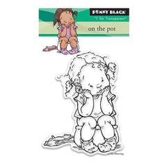 Penny Black Clear Stamps 3In. X4in. On The Pot