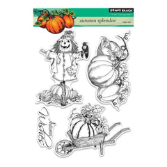Penny Black Clear Stamps 5 inch X7 inch Autumn Splendor