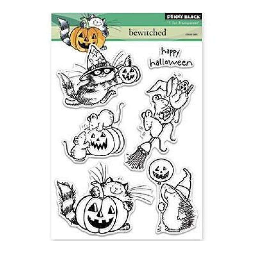 Penny Black Clear Stamps 5 Inch X7 Inch Bewitched