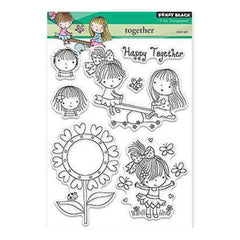 Penny Black Clear Stamps 5 Inch X7 Inch Together