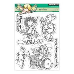 Penny Black Clear Stamps 5Inch X6.5Inch Sheet Stitches