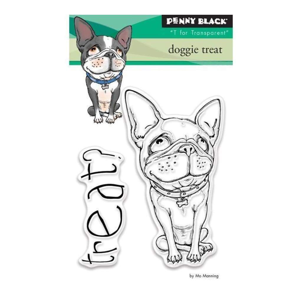 Penny Black Clear Stamps - Doggie Treat 3X4 Inch
