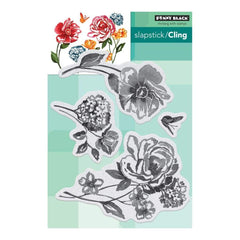 Penny Black Clear Stamps - Flower Pageant