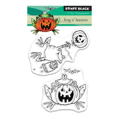 Penny Black Clear Stamps - Frog OLantern