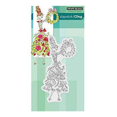 Penny Black Cling Rubber Stamp 5In.X7.5In. Sheet Spruced Up