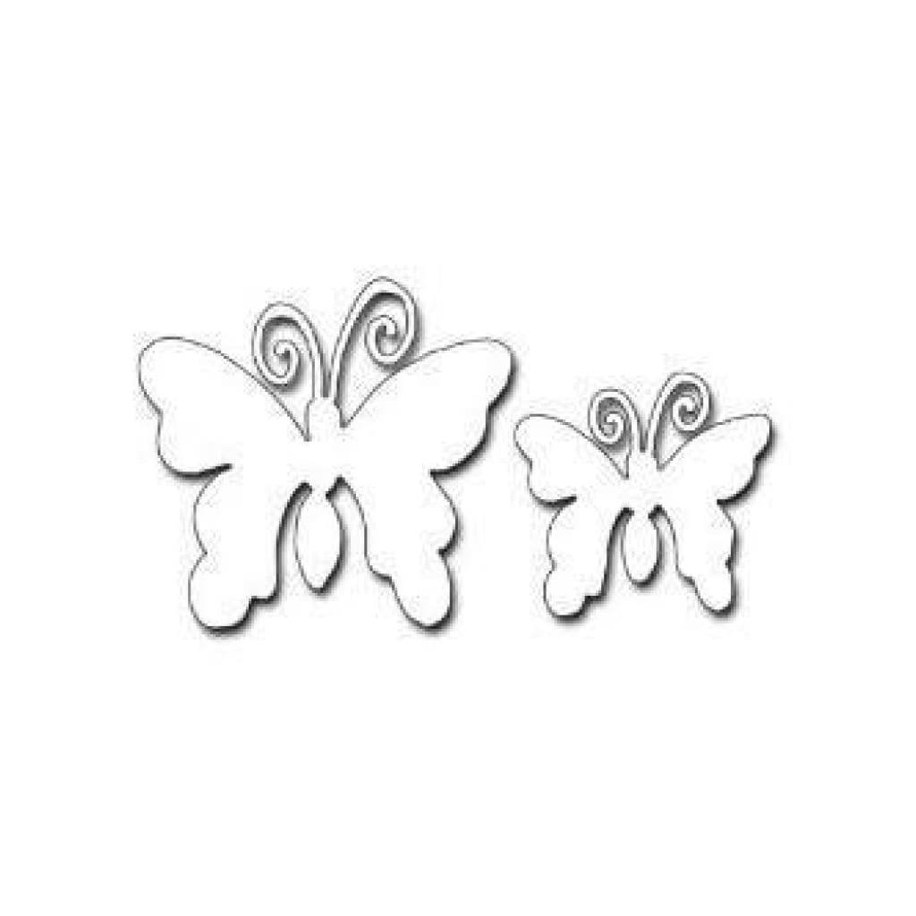 Penny Black Creative Dies Flicker & Flutter 2.4 Inchx3.5 Inch