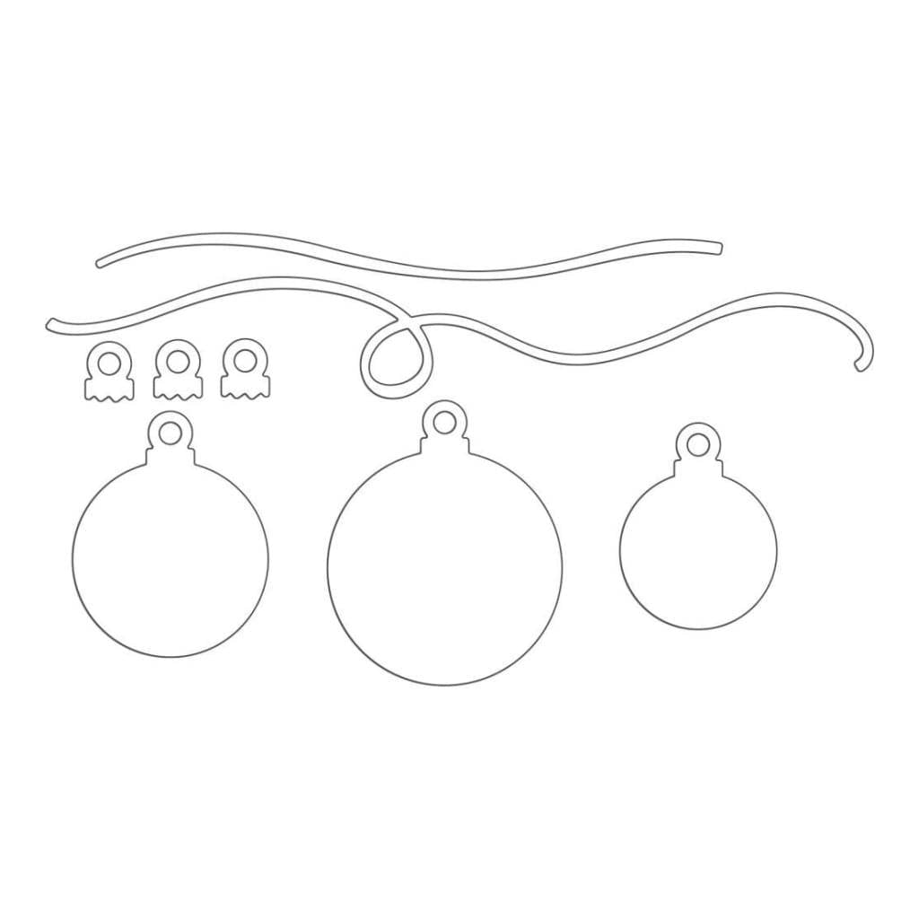 Penny Black Creative Dies - Ornaments Kit