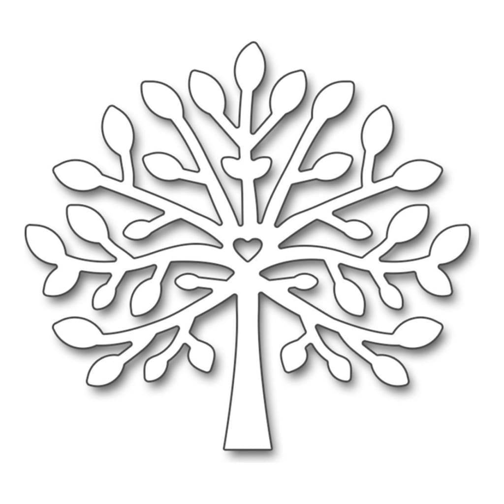 Penny Black Creative Dies Tree Hug, 2.2X2