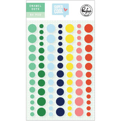 PinkFresh Studio Enamel Dot Stickers - Super Cool