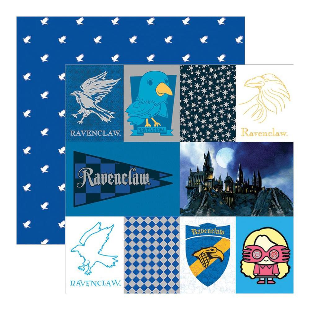 Paper House - Harry Potter Double-Sided Paper 12X12in - Ravenclaw