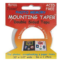 Photo Memory Double-Sided Mounting Tape .5X30'