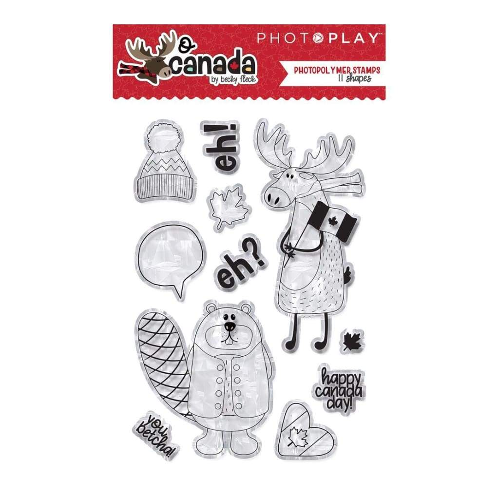PhotoPlay - Photopolymer Stamp - O Canada