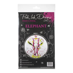 Pink Ink Designs - A5 Clear Stamp Set - Elephant