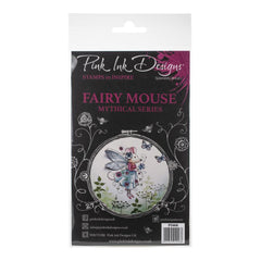 Pink Ink Designs - A5 Clear Stamp Set - Fairy Mouse