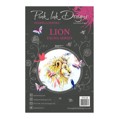 Pink Ink Designs - A5 Clear Stamp Set - Lion